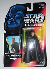 Kenner STAR WARS POTF Luke Skywalker Lightsaber Removable Cloak 1996 Figure NIB