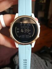 Garmin fenix 5S Sapphire Edition GPS Watch 42mm  - white
