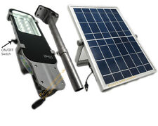 Multifunctional Solar Street Light 12 SMD LED Solar Lights Walkway Parking New