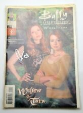 More details for buffy the vampire slayer: willow & tara wilderness #1 of 2 (carded) autograph?