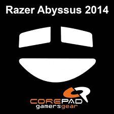 COREPAD Skatez Razer Abyssus 2014 RICAMBIO TEFLON ® piedini del mouse hyperglides