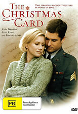 THE CHRISTMAS CARD  Edward Asner  Alice Evans  Christmas  ALL REGION DVD