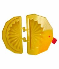 karanji Gujiya Plastic Mould, Diwali Delicacy, Yellow (Pack of 2) Diwali sweets