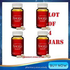 Lot of 4 Jars ANGELA GOLD Ginseng- Sexual Health Women Estrogen, Progesterone.