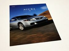 2004 Acura TSX Preview Brochure