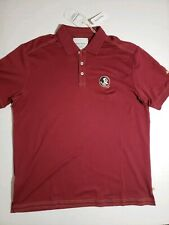 Mens Tommy Bahama FSU Florida State Polo Shirt size Large NWT NCAA