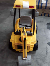 Ride On Toys Cars Digger Electric Tractor Loader Bulldozer Excavator