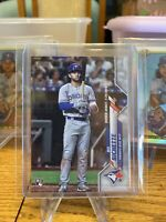 Bo Bichette RC 2020 Topps Update Rookie Debut Card #U1 Blue Jays 🔥🔥🔥