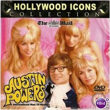 AUSTIN POWERS DVD FROM HOLLYWOOD ICONS COLLECTION FROM THE MAIL ON SUNDAY