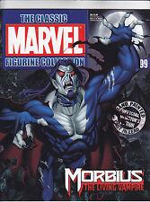 Classic Marvel Figurine Collection #99 MORBIUS w/Magazine FREE USA SHIP