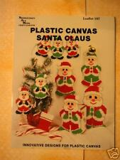 Christmas Plastic Canvas Pattern Leaflet 1989 5 Pattern