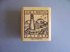 STAMPIN' UP RUBBER STAMPS FOR A SPECIAL FATHER LIGHTHOUSE STAMP