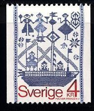 SWEDEN - SVEZIA - 1979 - Arazzo della provincia di Scania