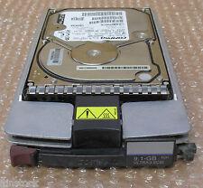 HP/Compaq BD0096398B,9.1Gb,10k, Wide Ultra3 SCSI Hard Drive W/ Caddy,207533-001