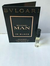 Bvlgari Man in Black EDP, perfume!!, EDT various sample  spray vials new