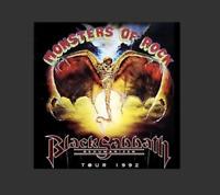 Black Sabbath Live at Monsters of Rock Festival 1992 on the Dehumanizer Tour CD