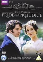 PRIDE AND PREJUDICE - (Colin Firth) DVD Region 4 (AUS) New & Sealed