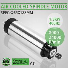 1,5KW Spindelmotor linearmotor Luftgekühlte Gravieren Fräsmotor Mill Grind