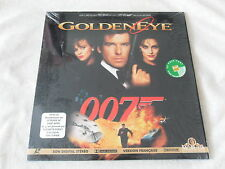LASER DISC  GoldenEye  JAMES BOND 007  Pierce BROSNAN  Famke JANSEN  Ian FLEMING