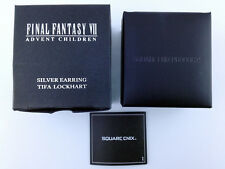 Final Fantasy VII Advent Children Tifa Lockhart Silver 925 Earring Square Enix