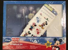 Disney Mickey Mouse Scrapbook Set | New in Package | 8 x 8 | Stickers WDW