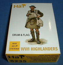 HAT 8235 WWI HIGHLANDERS. BRITISH SCOTTISH INFANTRY. 1/72 SCALE.