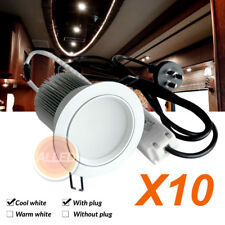 10X240V AC LED Down Light Kit Recessed Ceiling Lamp Home/Garden/Domestic/Hotel