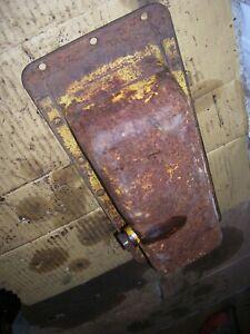 ORIGINAL IH FARMALL CUB  TRACTOR - ENGINE OIL PAN & DRAIN PLUG