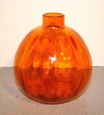 Leerdam Glass Orange Apple Juliana Vase