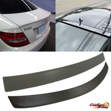 C180 C250 BENZ C204 Coupe C-Class A Type Trunk + OE Look Roof Spoiler 12-15