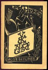 GROSSE BERLINER KUNSTAUSSTELLUNG 1924 - Katalog-Catalog-Catalogue