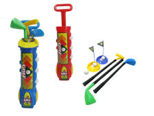 Deluxe Kid's Happy Golfer Toy Golf Set Perfect Golf Set for Children Colors Vary