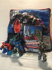 Transformers Pillow, 3 Toy Lots And DVD