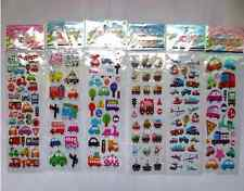 6 sheets childrens reward Stickers Car Transportation Buble Scrapbooking Gifts A