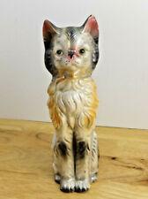 Vintage Ceramic Longhair Persian Cat Figurine
