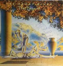 Moody Blues signed The Present album REAL LOA Roger Epperson