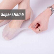 Silicone Moisturizing Gel Heel Socks Cracked Foot Skin Zubehör Care J8U6
