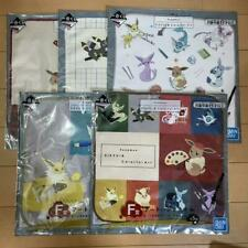 Ichiban Kuji Pokemon Eevee Eievui /& Antique F Award hand towel 4 set JAPAN