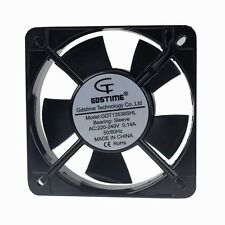 AC 135mm x 38mm 13.5cm 220V 240V Metal Industrial Cooling Cooler Fan 2wire New