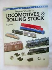 Model Railroader How-To-Books, Locomotives and Rolling Stock