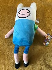 """Adventure Time Finn Plush Toy - 11""""/28.5cm. New With Tags"""