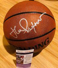 Chicago Bulls JOHN PAXSON signed Autographed basketball JSA COA