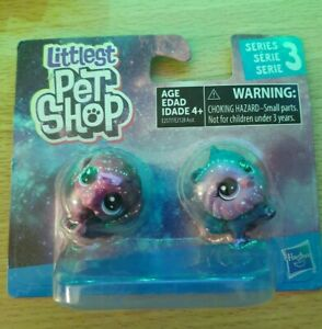NEW LPS Littlest Pet Shop Cute Series 3 Cosmic Galaxy Outer Space Puppy Dog NIP