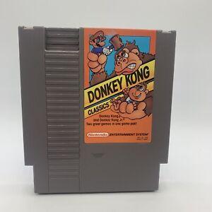Donkey Kong Classics (Nintendo Entertainment System NES) Cart Only