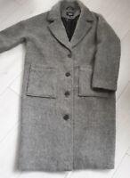 Tigha Damen Oversize Mantel Halma grey malenge Size M UVP: 249,90 €