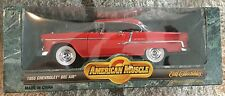 "1955 Chevrolet Bel Air 1/18"" Scale ""American Muscle"" by ERTL  (IN:268)"