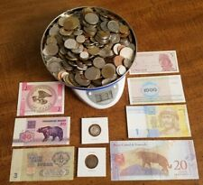 New ListingLarge Junk Drawer Lot! World Coins & Banknotes - Some Silver - No Reserve!