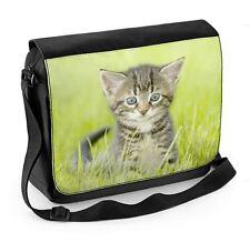 GATTINO in erba Laptop Messenger Bag-Carino Gattini Regalo