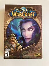 World of Warcraft Original Box Pc Game Blizzard (2004) Og