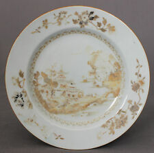 Nanking Chinese Shipwreck Cargo Rare Private Cargo Porcelain Dinner Plate c1750